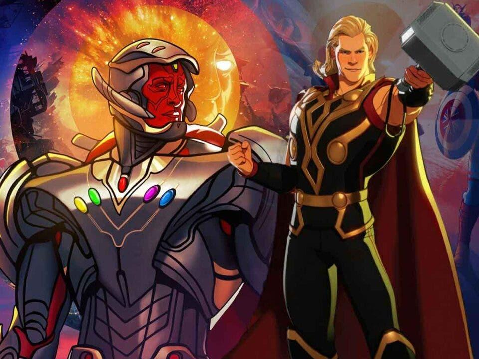 Ultron Vision se enfrentará al Thor fiestero en What if ...?