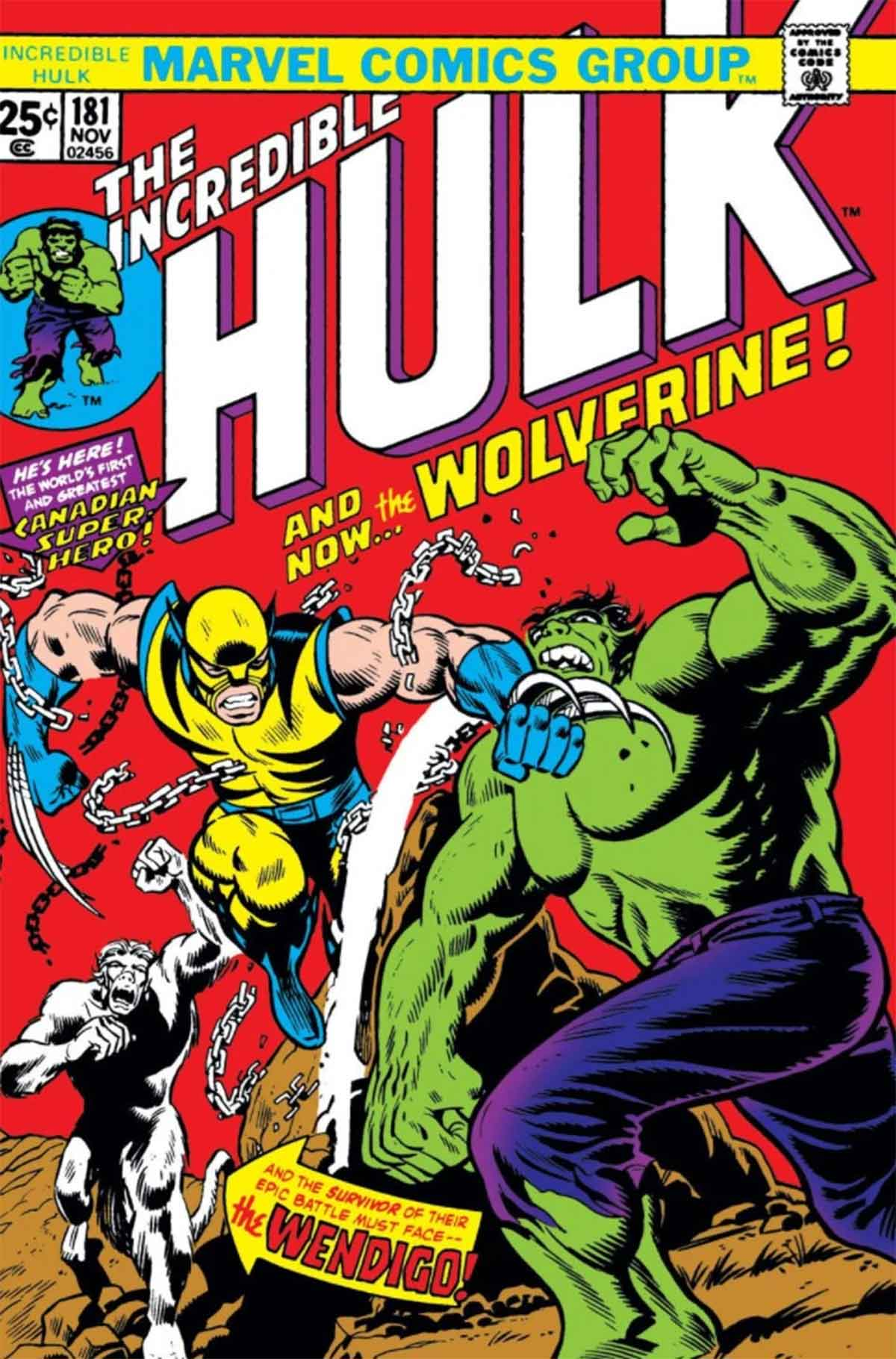 the incredible hulk 181 wolverine