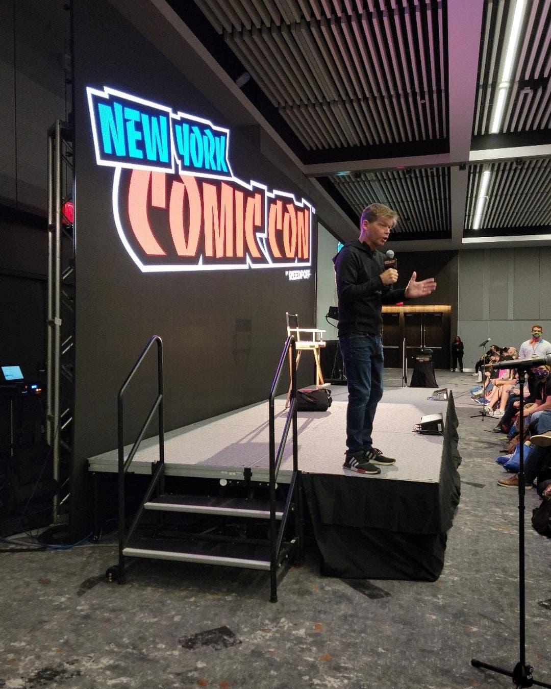 Rob Liefeld en La New York Comic con 2021