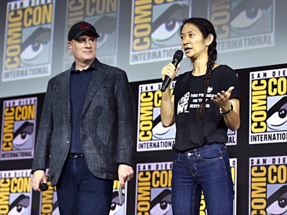 Chloé Zhao cuenta cómo presentó Los Eternos a Kevin Feige