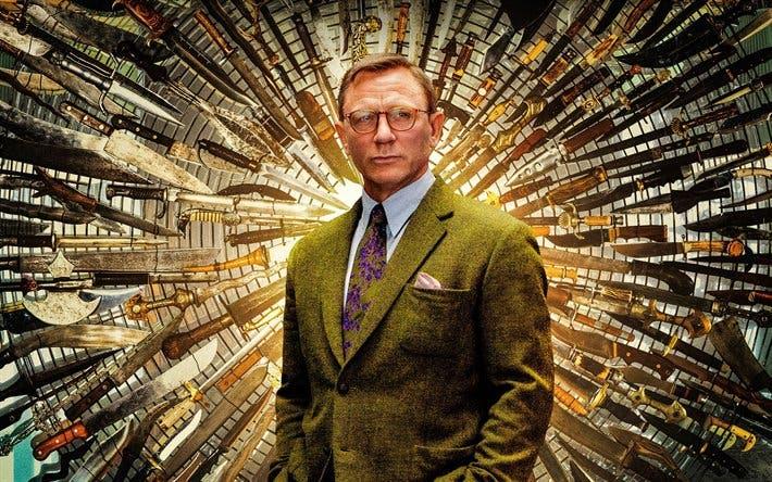 Tras haber dejado 007, Daniel Craig habla de Knives Out 2