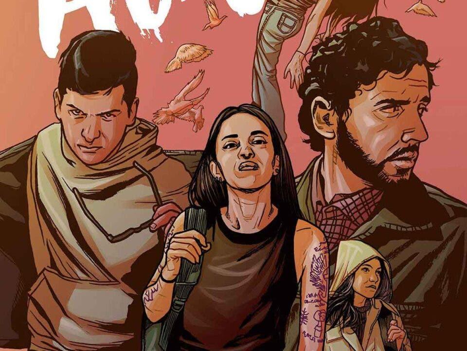 ALMA Portada Comic Sergio Carrera