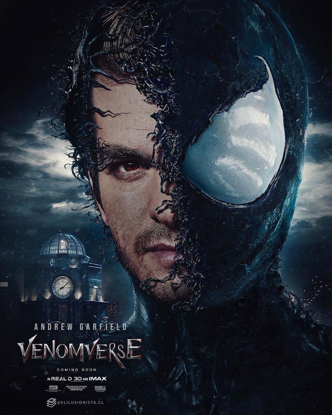 Andrew Garfield Spider-man Venom