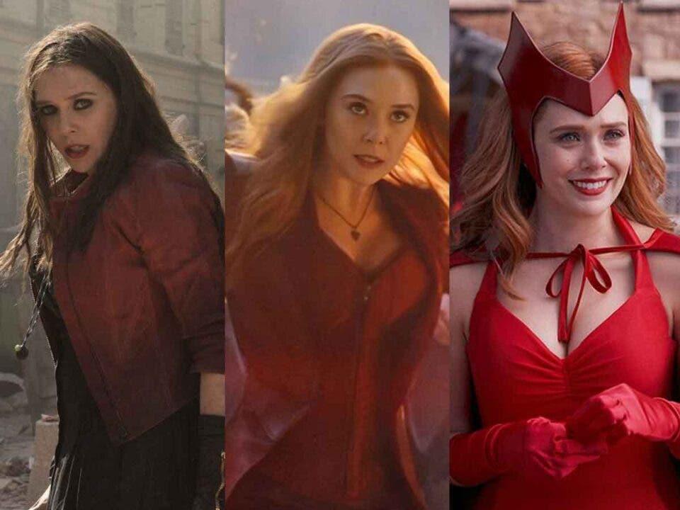 Elizabeth Olsen Bruja Escarlata Marvel Studios