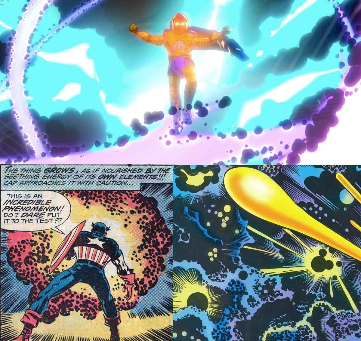 Marvel Studios Kirby Krackle what if