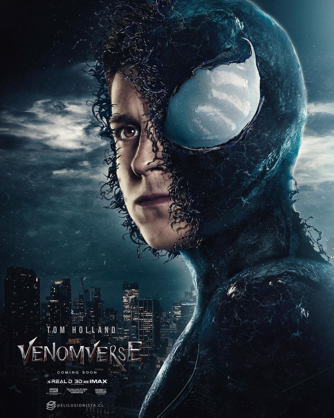 Tom Holland Spider-man Venom
