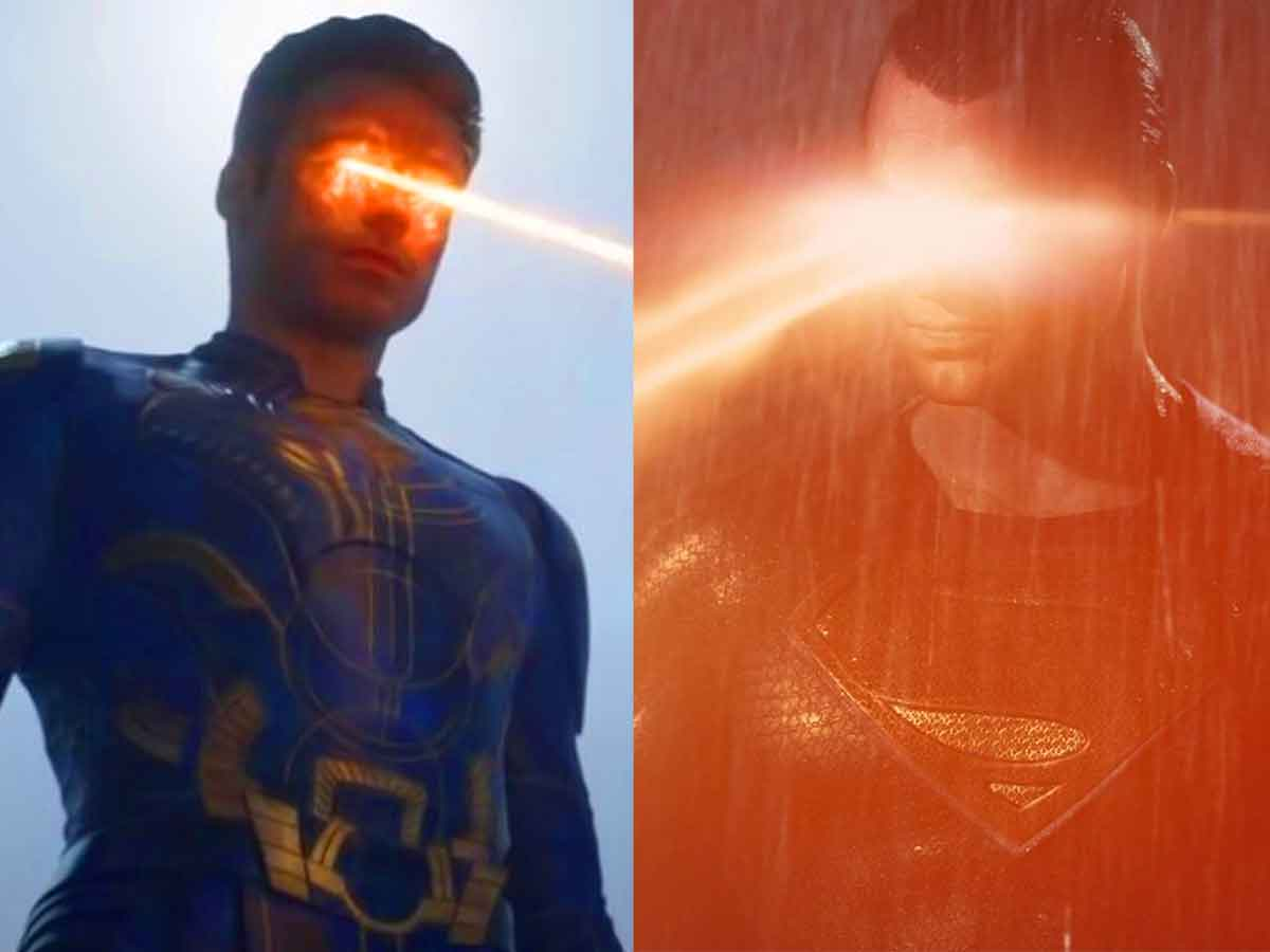 ikaris vs superman marvel studios vs DC Comics